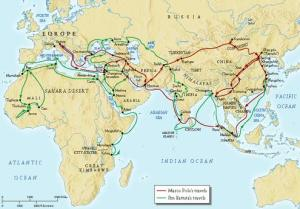 Travels of Marco Polo and Ibn Battutah