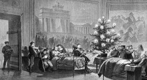 christmas-tree-for German solidiers 1871