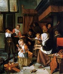 JanvanSteen-Sint Nicolaasfeest 1665
